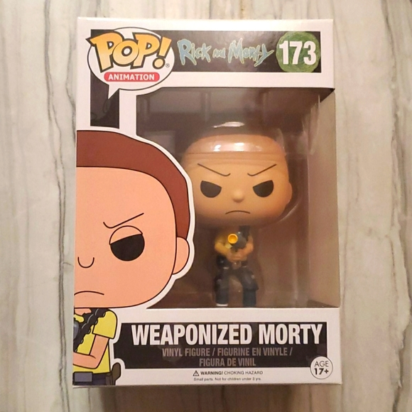 Rick and Morty Weaponized Morty Funko #173